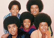 The Jackson 5: Members of the original Jackson 5: Top row from left to right: Marlon, Jackie. Bottom row from left to right: Tito, Michael, Jermaine