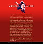 Официальный сайт michaeljackson.com 25-29 июня 2009г